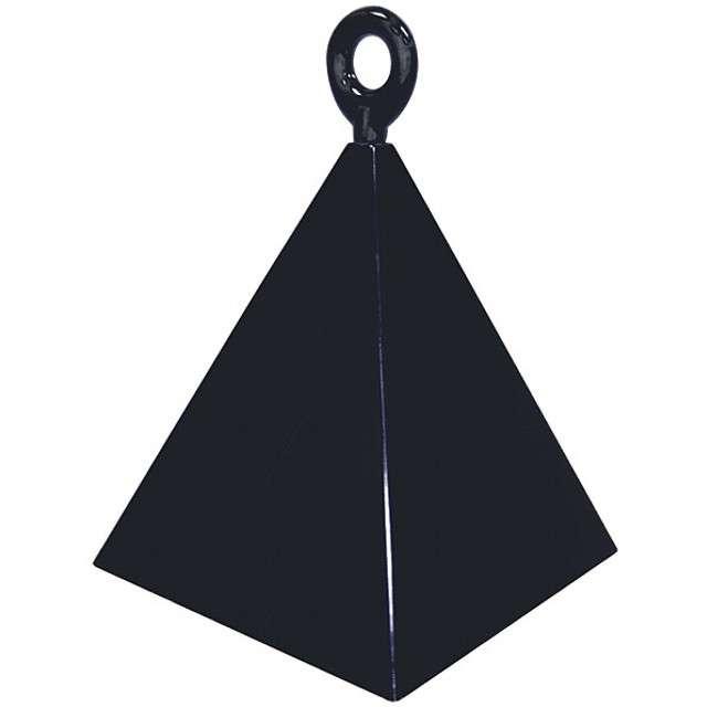 """Obciążnik do balonów """"Piramida"""", QUALATEX, czarny"""