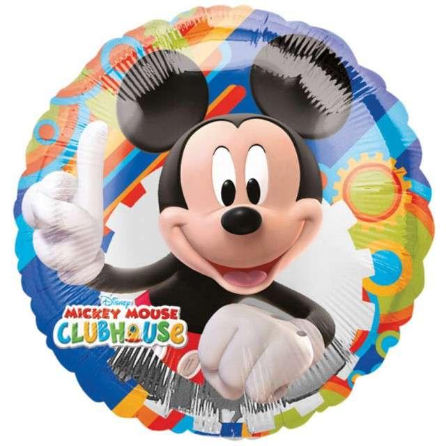 "Balon foliowy ""Mickey Clubhouse"", AMSCAN, 9"" CIR"