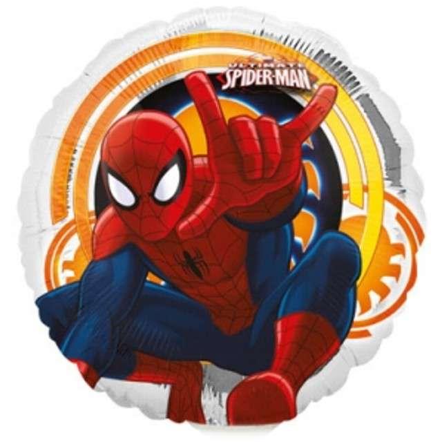 """Balon foliowy """"Spider-Man"""", AMSCAN, 9"""" RND"""
