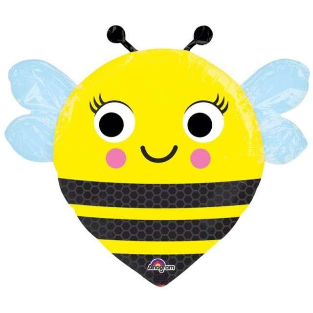 "Balon foliowy ""Pszczółka Uśmiechnięta"", AMSCAN, 14"" SHP"