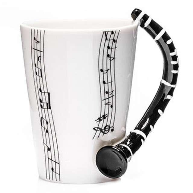 """Kubek """"Muzyczna przygoda - klarnet"""", 250 ml, GM"""