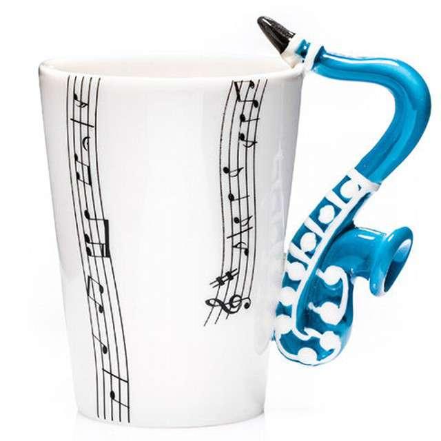 """Kubek """"Muzyczna przygoda - Saksofon"""", 250 ml, GM"""