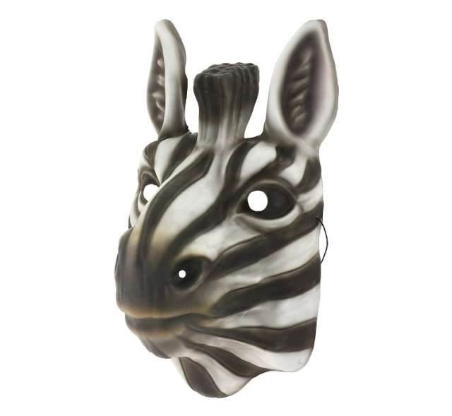 """Maska """"Zebra"""", piankowa"""