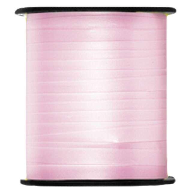 """Wstążka do balonów """"Classic U91"""", różowa jasna, UNIQUE, 0,5 cm x 91m"""