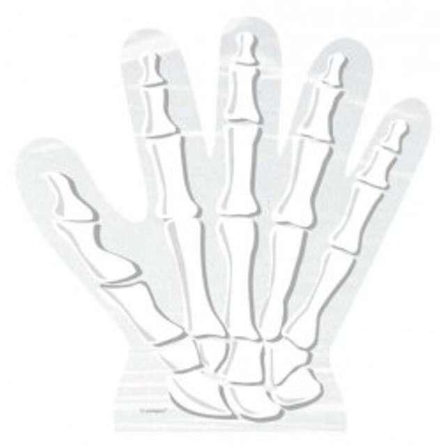 """Torebki foliowe """"Szkieletor ręka"""", 10 szt"""