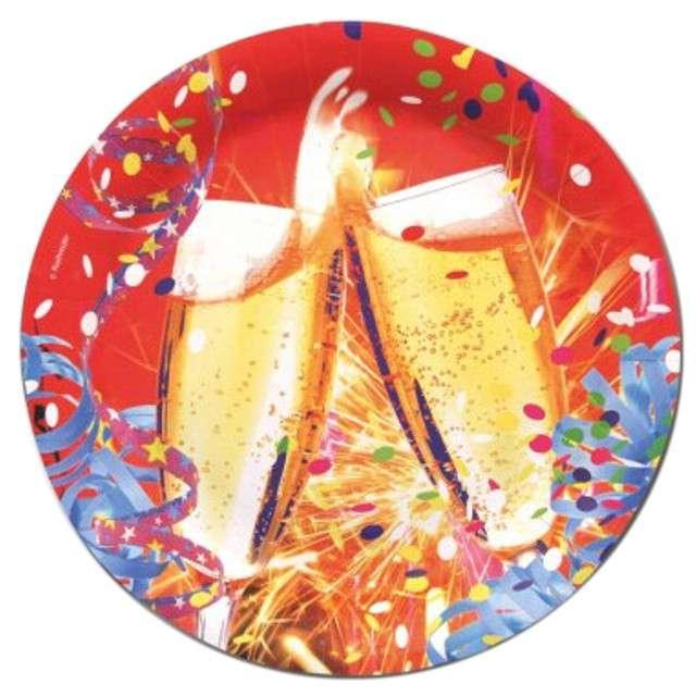 """Talerzyki papierowe """"Toast"""", 23 cm, 8 szt"""