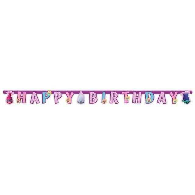 "Baner ""Trolls - Happy Birthday"", PROCOS, 2 m"