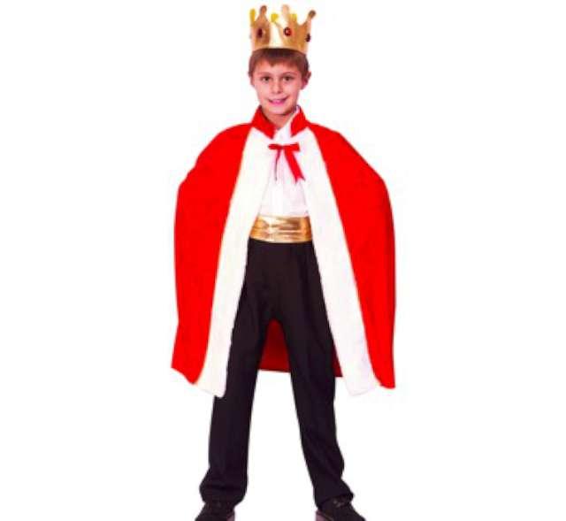 """Strój dla dzieci """"Król Stefan"""", rozm. 120/130 cm"""