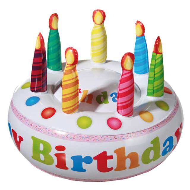 "Dmuchaniec ""Tort Urodzinowy - Happy Birthday"", OOTB"