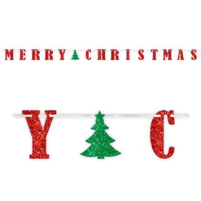 "Baner ""Merry Christmas"", AMSCAN, 365 cm"