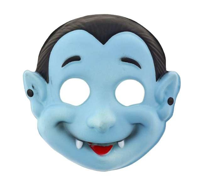 "Maska ""Niebieski Wampirek"", piankowa"