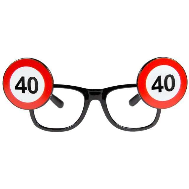 "Okulary party ""Urodziny 40 Traffic Birthday"", FOLAT"