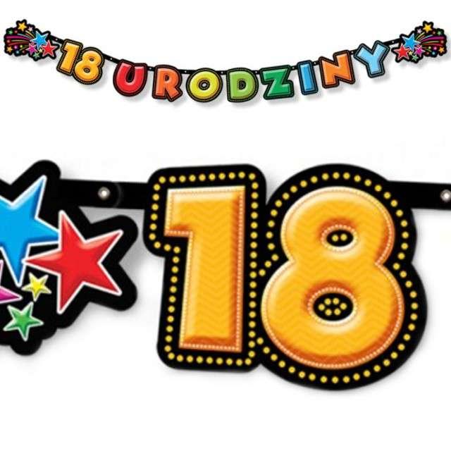 "Baner ""18 urodziny"", 198 cm"