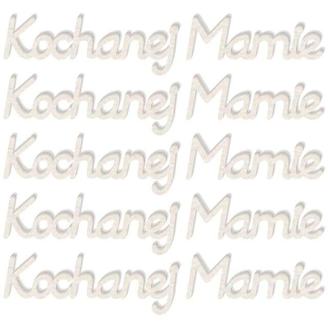 "Scrapki beermata ""Napis Kochanej Mamie"", 91x16 mm, 5 szt"