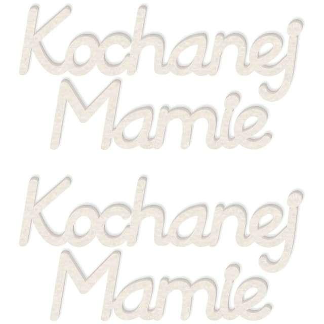 "Scrapki beermata ""Napis Kochanej Mamie"", 85x42 mm, 2 szt"
