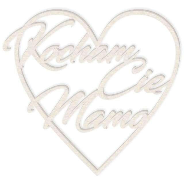 "Scrapki beermata ""Napis serce Kocham Cię Mamo"", 93x86 mm"