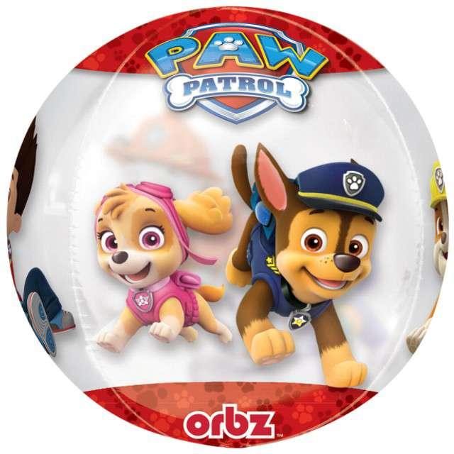 """Balon foliowy """"Paw Patrol"""", AMSCAN, 16"""" ORB"""