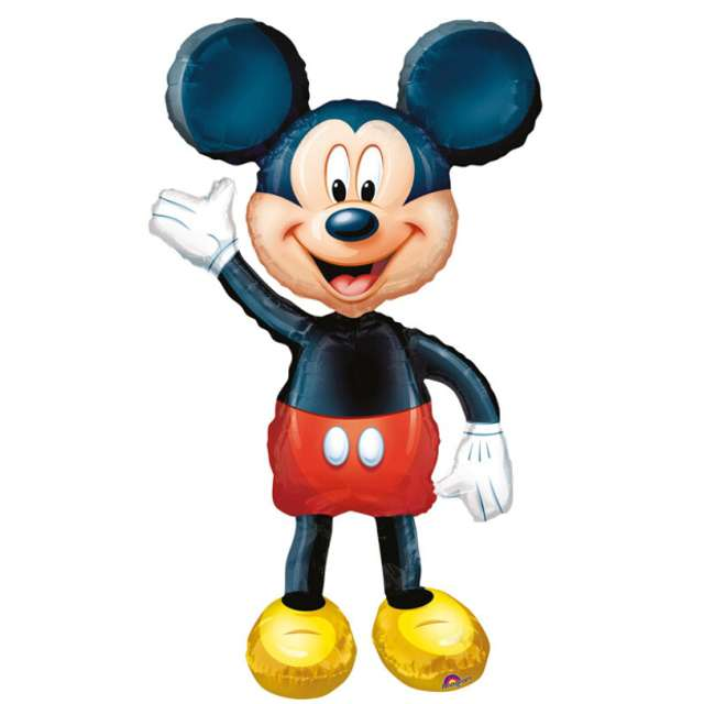 "Balon foliowy ""Myszka Mickey"", AMSCAN, 48"" AWK"