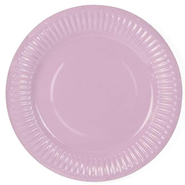 """Talerzyki papierowe """"Classic"""", różowe, 18 cm, 6 szt."""
