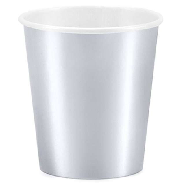 """Kubeczki papierowe """"Classic"""", srebrne, 200 ml, 6 szt"""