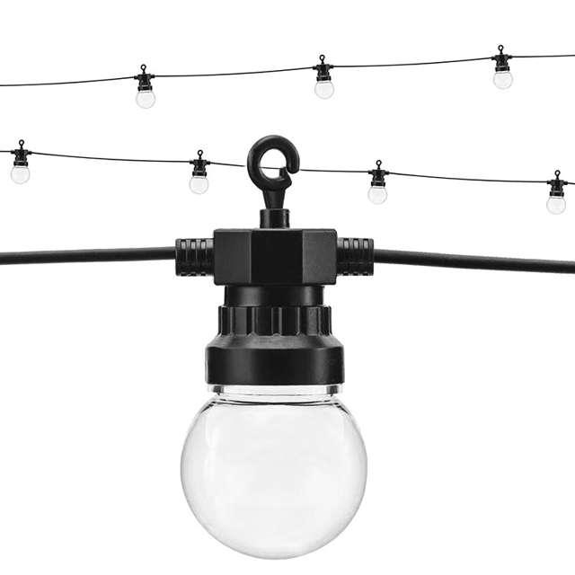 """Dekoracja świetlna """"Żarówki LED"""", bezbarwny, 500 cm"""