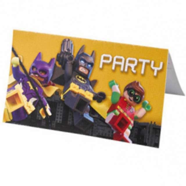 Zaproszenia Urodzinowe Lego Batman Amscan 8 Szt 9901828 Www