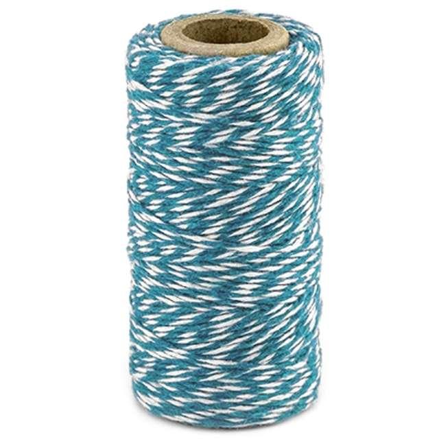 """Sznurek """"Bakers Twine"""", niebieski, 50 m"""