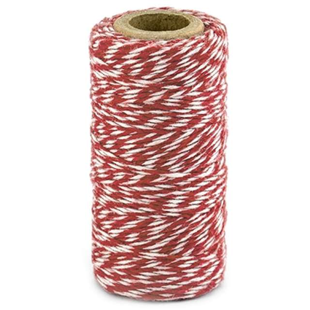 """Sznurek """"Bakers Twine"""", czerwony, 50 m"""