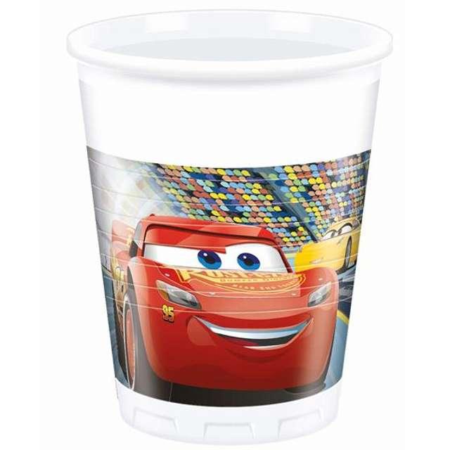 "Kubeczki plastikowe ""Cars 3"", 200 ml, 8 szt"