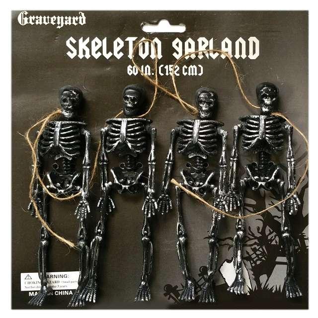 """Dekoracja wisząca """"4 szkielety"""", 15 cm"""
