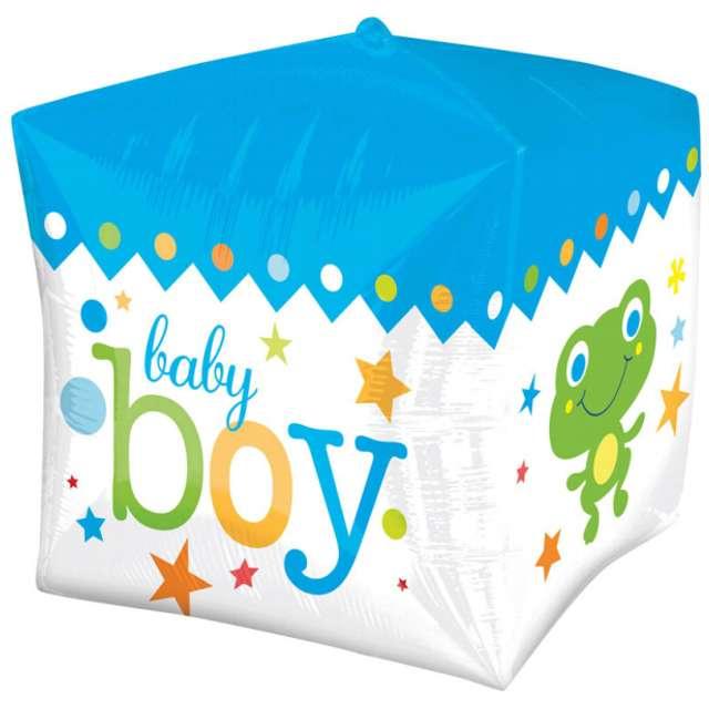 Balon foliowy Baby Boy Blue AMSCAN 15 QBZ