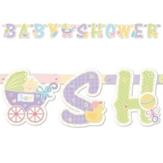 "Girlanda ""Baby Shower"", 200 cm"