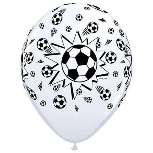 """Balony """"Piłka Nożna"""", QUALATEX, 11"""", 6 szt"""