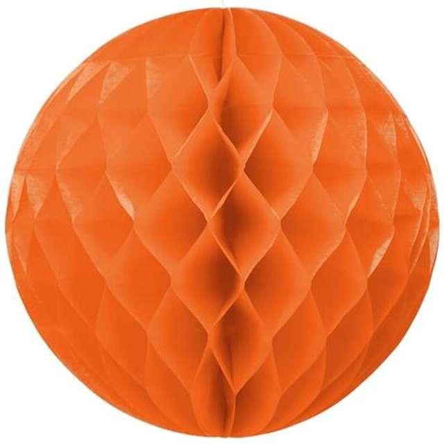 Kula bibułowa, pomarańczowa, 30 cm