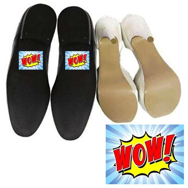 """Naklejki na buty """"WOW"""", 2 szt"""