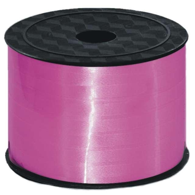 """Wstążka do balonów """"Classic Pastel"""", różowa, VIPER, 5 mm x 91 m"""