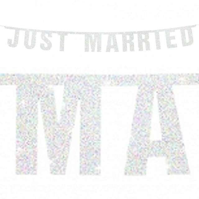 "Baner ""Just Married"", 170 cm"