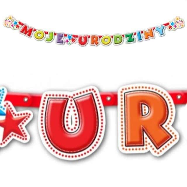 """Baner """"Moje Urodziny"""", 240 cm"""