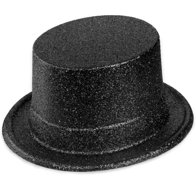 Cylinder Brokat Classic czarny