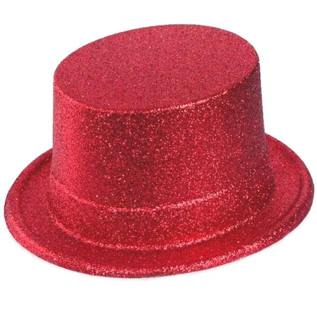 Cylinder Brokat Classic czerwony