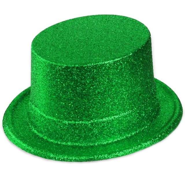 "Cylinder ""Brokat Classic"", zielony"