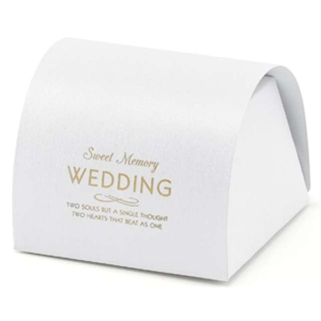 """Pudełeczka dla gości """"Wedding"""", 10 szt"""