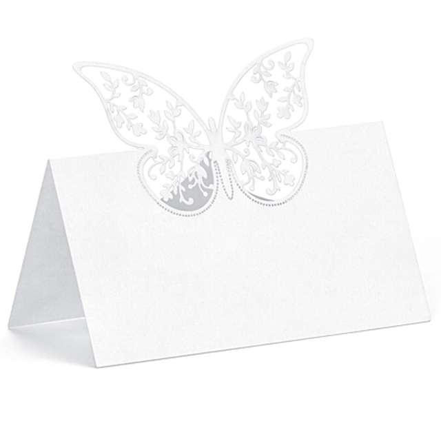 """Wizytówka na stół """"Motylek"""", 10 szt"""