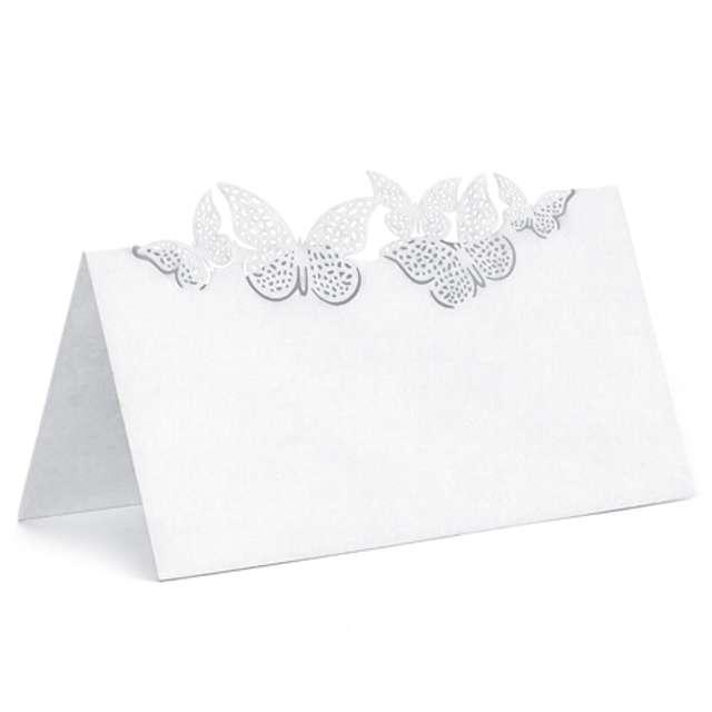 """Wizytówka na stół """"Motylki Ornament"""", 10 szt"""