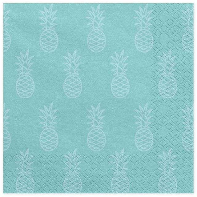 "Serwetki ""Aloha - Ananas"", 33 cm, 20 szt"