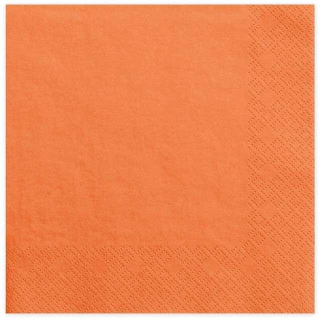 """Serwetki """"Lunch Classic"""", pomarańczowe, 33 cm, 20 szt"""