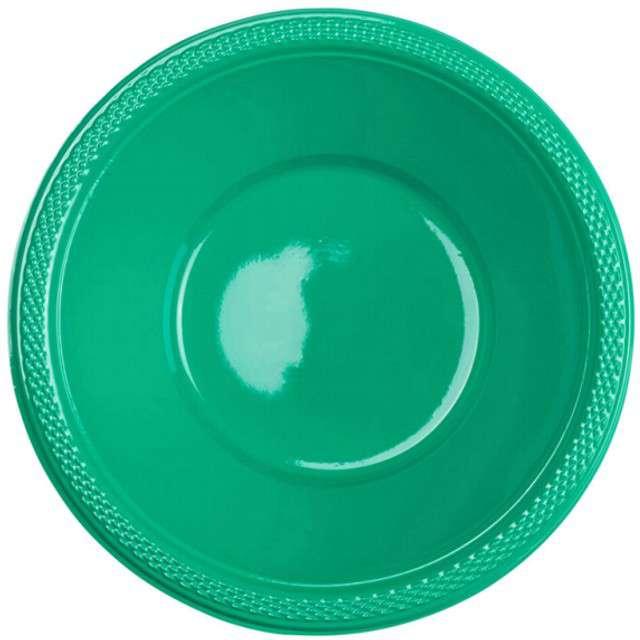 """Miska plastikowa """"Diamond"""", zielona, 355 ml, 10 szt"""