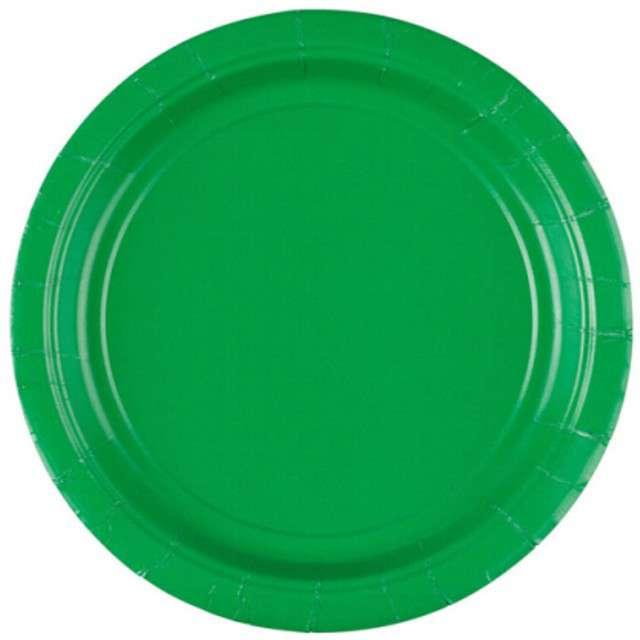 """Talerzyki papierowe """"Premium AMSCAN S"""", zielone, 17,7 cm, 8 szt"""