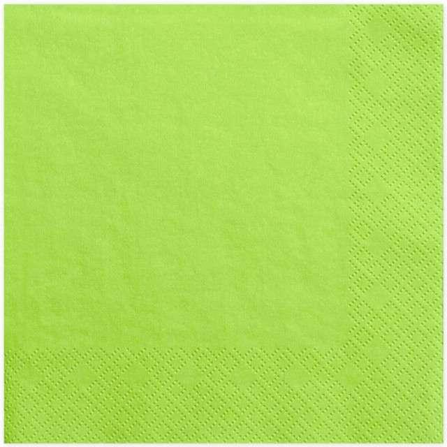 """Serwetki """"Lunch Classic"""", zielone jasne, 33 cm, 20 szt"""