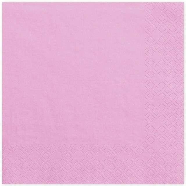 """Serwetki """"Lunch Classic"""", różowe, 33 cm, 20 szt"""